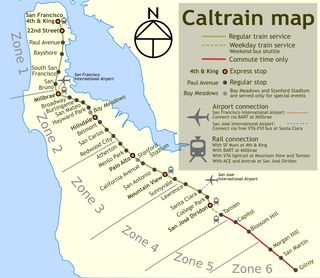 Caltain_map